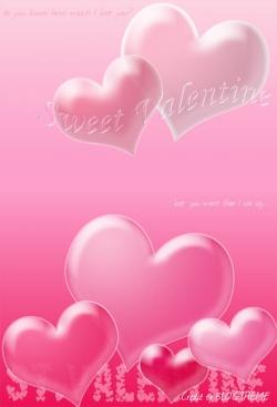 Flower pictures - Valentine pink