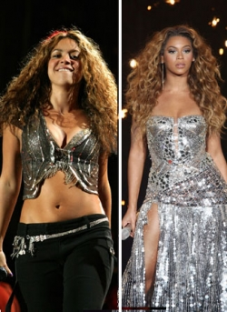 Celebrity photos - Shakira_Beyonce