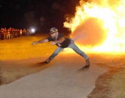 Funny photos - Super power