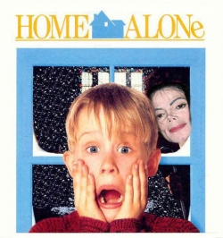 Celebrity photos - Home alone with MJ