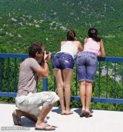 Funny photos - Great view of mountains