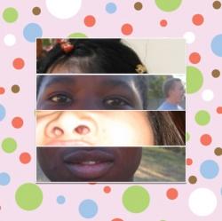 Funny photos - Mixing face