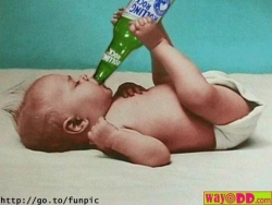 Funny photos - Beer + Baby