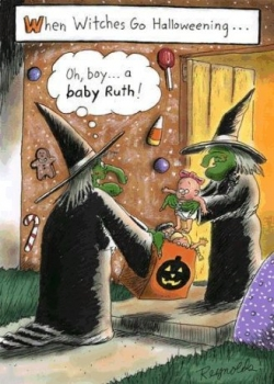 Halloween pictures - When witches go halloweening