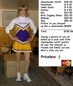 Sportsmen photo - Priceless Cheerleader