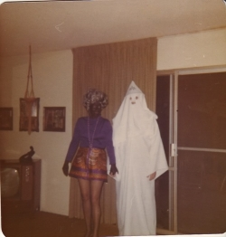 Halloween pictures - Nana & ray 1975