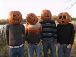 Halloween pictures - Pumpkin heads