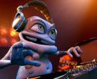 Crazy frog cartoons - Music DJ