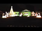 Funny Christmas videos - Christmas Lights To Music - Carol of the Belles