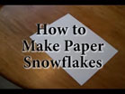 Funny Christmas videos - How to make paper snowflakes