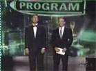 Funny celebrity videos - Colbert and Stewart at the Emmy's