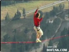 Funny sports & games videos - Extreme Tightrope Walking