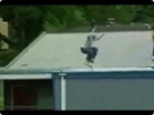 Funny man videos - Rollerblader Face Smash