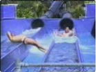 Funny man videos - Water Slide