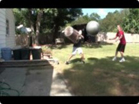 Funny game videos - Exercise Ball to the Face