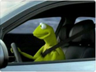 Funny video commercials - Kermit the Frog - Driving BMW