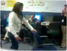 Funny work/office videos - Chick Faceplants Jumping Over Chair