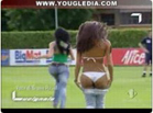 Funny football videos - Invasion of the Field with Strip