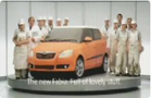 Funny car videos - Skoda Car Commercial - The Cake