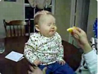 Funny kid videos - Baby Eats a Sour Lemon