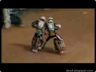 Funny sports & games videos - Funny Fight Between Scott Nicholls - Emil Sayfutdi