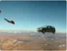 Funny car videos - Volkswagen Parachute
