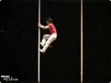 Funny sports & games videos - Dramatic Acrobat