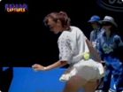Funny sports & games videos - Martina Hingis Upskirts