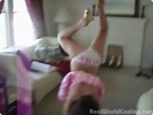Funny woman videos - Amature Gymnast