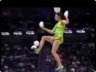 Funny woman videos - Chinese Girls Performing Acrobatics in the NBA