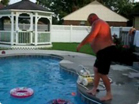 Funny man videos - In the Swimming Pool