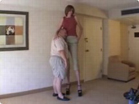 Funny woman videos - Tall Woman 6 Foot 9 Inches