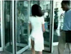 Funny woman videos - Skirt Caught in Panties - Funny Tampax Ad