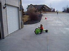 Funny kid videos - Big Wheels Stunt