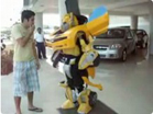Funny car videos - Transformers Robot