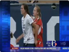 Funny football videos - Girls Vs Girl Soccer Fight, 6abc Action News