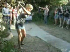Funny woman videos - Woman with Amazing Golf Shot