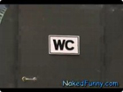 Funny stupid videos - Naked and Funny A Toilet Without Stalls 1098