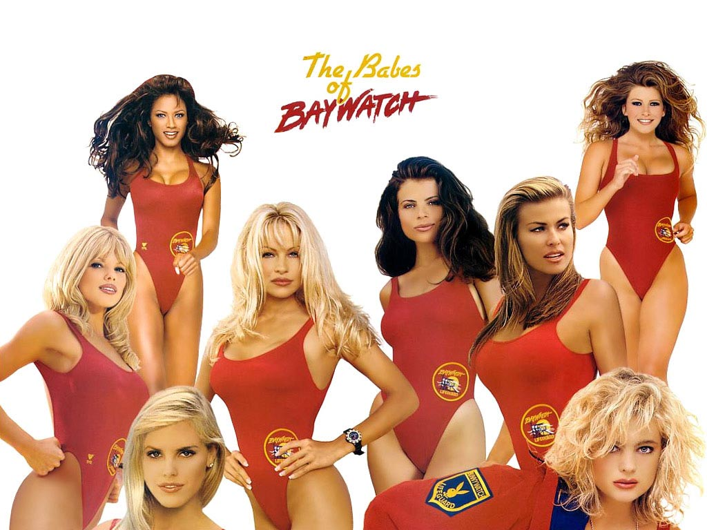 The babes of baywatch