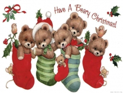 Christmas Wallpaper - Beary Xmas