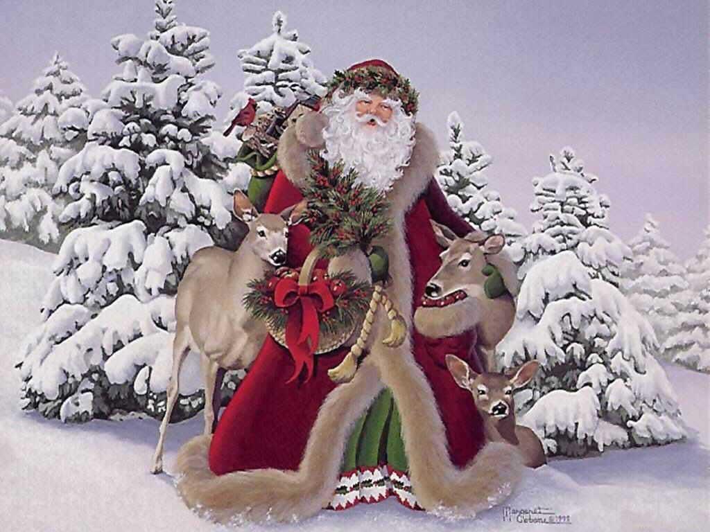 Indulgent Santa
