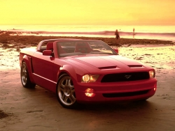 Car Wallpaper - Red Mustang