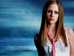 Model Wallpaper - Lavigne