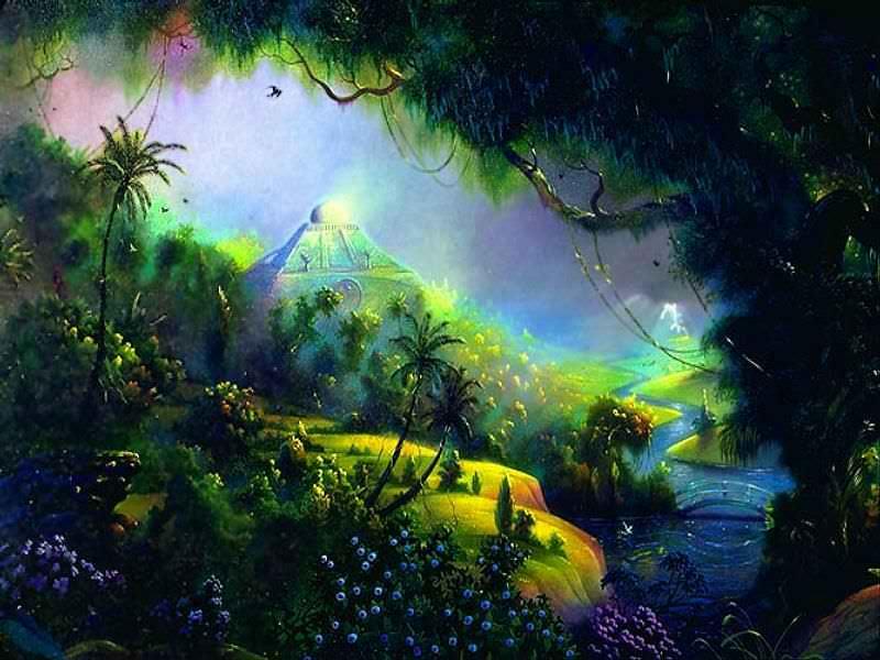 Paradise scene