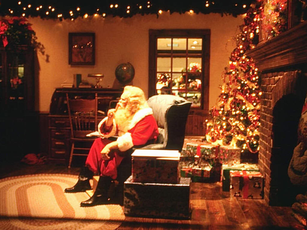 Santa & chimney