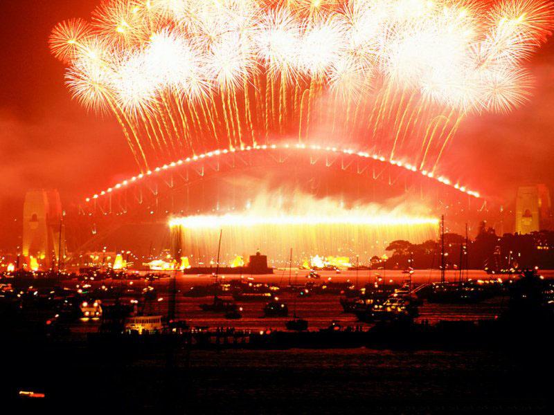 Palace's Fireworks