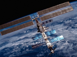 Space Wallpaper - Inter space station