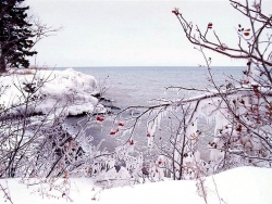 Landscape Wallpaper - Lake superior winter