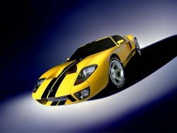 Car Wallpaper - Ford new GT40