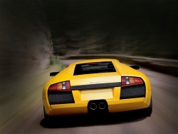 Car Wallpaper - Yellow Lamborghini